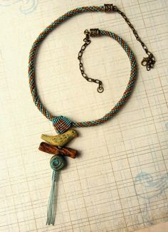 A Contest, Artisan Beads and Micro Macrame - What's Not to Love!