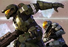 Spartan-117 & Spartan-087 » Halo Legends: The Package