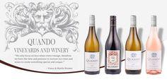 Quando Wines - Quando Vineyards and Winery Tourism In South Africa, South African Wine, Wine Tourism, Wines, Vineyard, Bottle, Vine Yard, Flask, Vineyard Vines