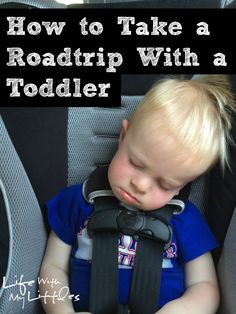 how to take a road trip with a toddler