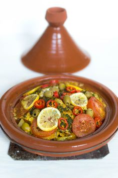Moroccan Tagine Recipes, Tajin Recipes, Clean Recipes, Healthy Recipes, Tagine Cooking, Couscous, Bruchetta Recipe, Low Carb Brasil, Vegan Junk Food