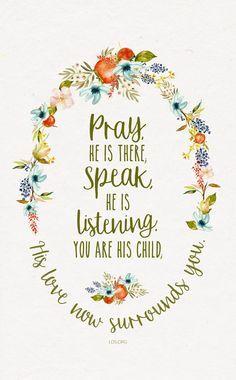 A Child's Prayer #LDS
