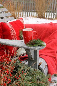 .Una taza de café en tu casa para disfrutar del Invierno siempre es buena  #Navidad #Decoración #LasProvincias