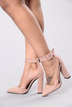Fashionista Heel - Blush