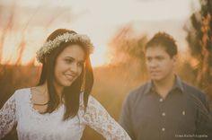Aimi Flores: Coroa de flores para noiva | Tatiana e Davysson