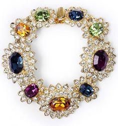 Beautiful Necklace By American Jewelry Designer Kenneth Jay Lane Kjl Vintage Costume