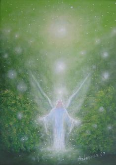 Angel Raphael art imagery for meditation Gallery Natur Mystik – Benny H. Angel Images, Angel Pictures, Angel Guide, Spiritual Images, I Believe In Angels, Angels Among Us, Angels In Heaven, Guardian Angels, Visionary Art