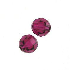 Swarovski 5000 4mm Ruby Color Beads (24pk) $3.95 - $0.17