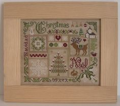 Christmas by Jardin Prive. I really want to do this one someday!