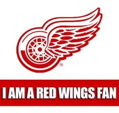 I'm not A Red Wings Fan, I'm The Red Wings Fan ;)