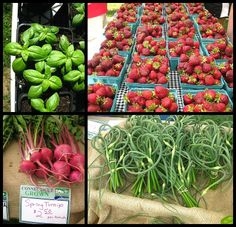 Ellington Farmers Market.  Here is just a bit of the produce that was at the market yesterday. As the summer seasons begins we will have more variety and volume weekly.  http://ellingtonfarmersmarket.com/