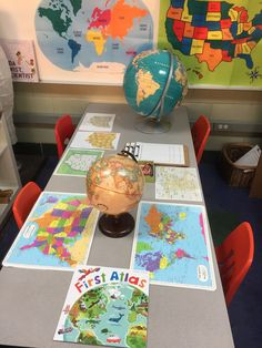 To begin our inquiry into celebrations around the world, we looked at maps and globes to see how big the world is. We found Ohio on world,...