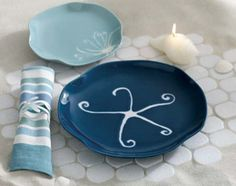 Deep Blue Sea Plates