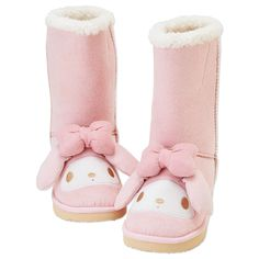 My Melody boots OMG!! Forget Uggs!
