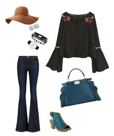 Flare by faust-arp78 on Polyvore featuring polyvore fashion style Frame Spring Step Fendi Rosendahl clothing