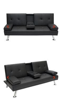 Sofas Loveseats and Chaises 38208: Modern Entertainment Futon Sofa Bed Fold Up And Down Recliner Couch Furniture -> BUY IT NOW ONLY: $220 on eBay!