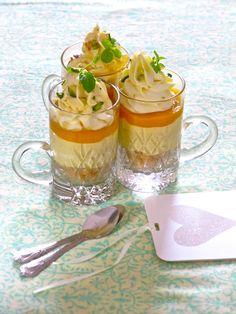 Plateful: Eggless, No Bake, Mini Mango Cheesecakes