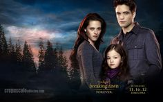 Bella, Renesmee, and Edward Promo