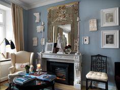 Fireplace in Heidelberg Suites by Michele Bonan