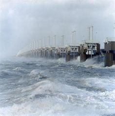 Stormvloedkering Oosterschelde Oosterscheldekering Noordzee