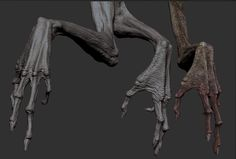 Discover recipes, home ideas, style inspiration and other ideas to try. Monster Hands, Monster Art, Fantasy Character, Character Modeling, Creature Concept Art, Creature Design, Alien Creatures, Fantasy Creatures, Alien Hand