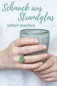 Schmuck aus Strandglas selber machen: einfache Anleitung!