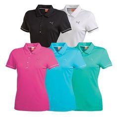 Women's PUMA Golf Tech Polo Golf Shirt - PUMA Golf