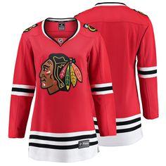b59643994 Women s Chicago Blackhawks Fanatics Branded Red Breakaway Home Jersey. Chicago  Blackhawks