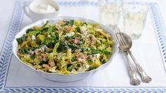 The humble cabbage is elevated to new heights of deliciousness - cooked in wine and cream with salty bacon.