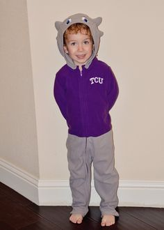 #TCU Horned Frog outfit