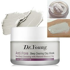 Dr. young Anti -Pore Deep Clearing Clay Mask by Dr. young
