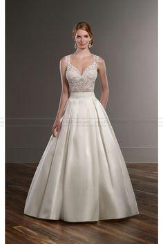 Martina Liana Traditional Separates Wedding Dress Style BLAIR+SACHI