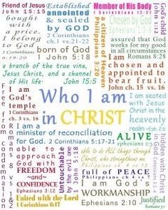 Who I am in Christ! #FaithInspiration