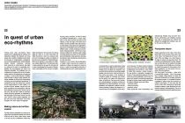 European competitions for new architecture on themes related to urbanism. French and English versions. Europe News, Catalog, Brochures