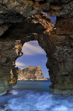 ✯ Cueva de los Arcs - Valencia, Spain. Looks icy but gotta soon there!