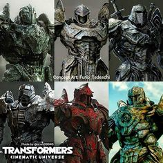 Amazing Concept Art Work on the Knights of Iacon from @furio_tedeschi • #transformers