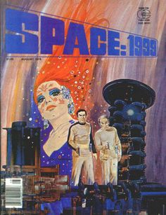 Space 1999 Magazine #6: August 1976, NM-, Cover artwork by Gray Morrow; interior artwork by Gray Morrow, Adolfo Buylla and Vicente Alcazar. $20