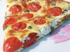 Tarte aux tomates cerises thon et boursin, Recette Ptitchef