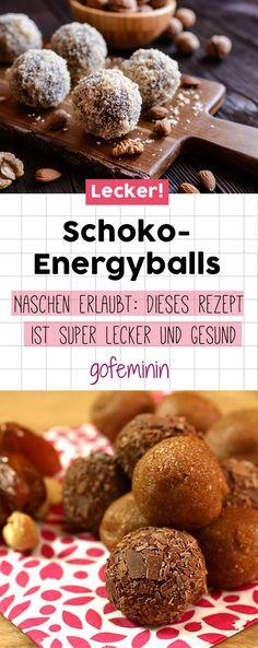 Naschen erlaubt: Diese leckeren Schoko-Energyballs sind wahre Energielieferanten!