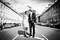 Beautiful wedding pose in the awesome city of Bath in England by mafoto-imaging wedding photography !