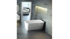 Modern take on traditional free standing tub