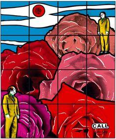 Gilbert and George Gilbert & George, New Media Art, Postcard Art, Poster Design Inspiration, Collaborative Art, Art For Art Sake, Illustrations And Posters, Life Drawing, Conceptual Art