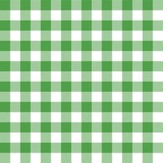 Gingham Green Half fabric by juliesfabrics on Spoonflower - custom fabric