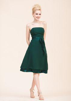 Minikleider - Grün Brautjungfernkleider Kurz - ein Designerstück von okayangel bei DaWanda