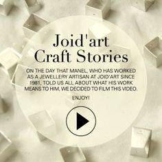 On the day that Manel, who has worked as a jewellery  artisan at Joid'art since 1981, told us all about what his work means to him, we decided to film this video, which demonstrates the craftsmanship behind our jewellery. Enjoy! #joidart #joidartcraftstories #barcelona #joieriacontemporania #joyeriacontemporanea #contemporaryjewelry #crafts #artesania #video