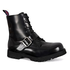 60328e910c5 30 Best All Boots images | Amphibians, Black Leather, Combat boot