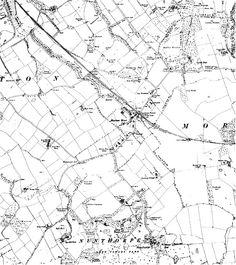 Old Maps of Nunthorpe 1895 Old MiddlesbroughTeesside Pinterest