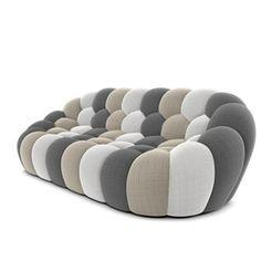 BUBBLE LARGE 3-SEAT SOFA - picture 3