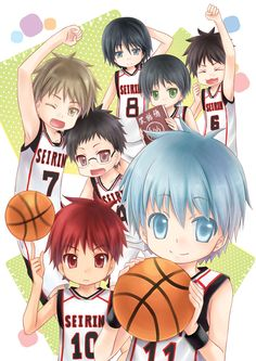 kuroko no basket seirin - Recherche Google