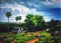 Paisaje Cubano by Jose Carlos Paz